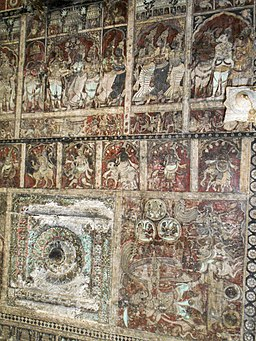 256px-Mural_painting_in_Hampi_Temple_01